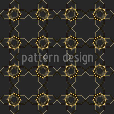 Arranged Square Shapes and Suns Repeat Repeat by Elena Alimpieva at patterndesigns.com
