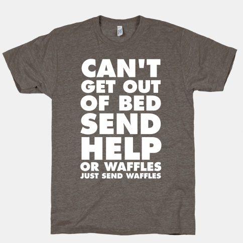 Send waffles.