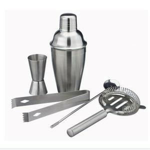 Shaker - Set Cocktail  Coffret Cocktail en Inox Avec Shaker - 5 Accessoir