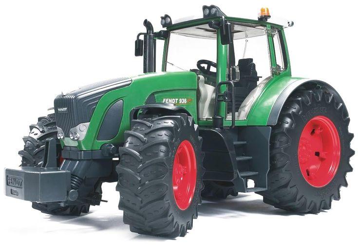 Schaalmodel van de Fendt 936 Vario tractor, geproduceerd door Bruder. Vanaf nu is geen enkele taak meer te zwaar.   Afmeting: volgt later.. - Fendt 936 Vario Bruder