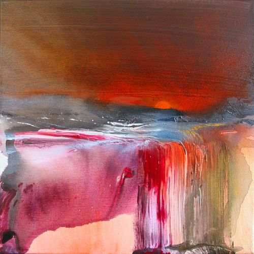 """artoffer – Art of Annette Schmucker """"New Dawn I"""" / 2007"""