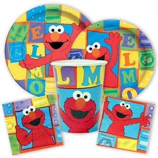 Elmo Party supplies from www.discountpartysupplies.com