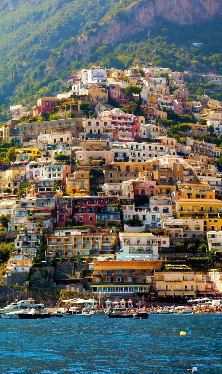 Beautiful Positano, Amalfi Coast, Italy