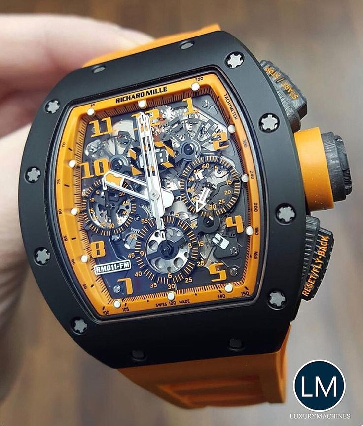 Beautiful Orange Richard Mille - RM11.