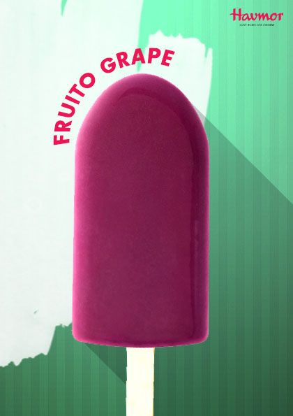 Fruito Grape Pospicle is a candy so fresh you'll fall in love at first lick!