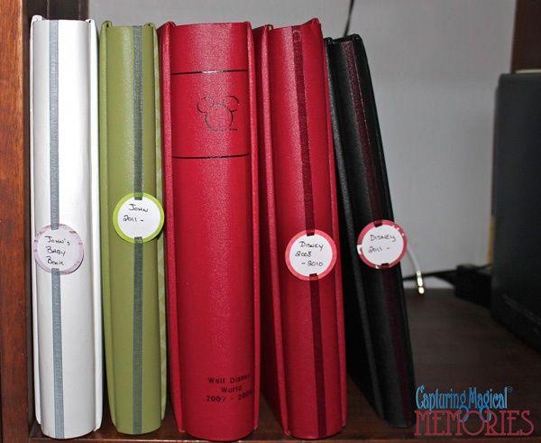 #Disney #Scrapbook Craft - Making Your Own Album Spine