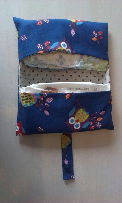 Dit is het homemade pamperzakje. Superhandig! Past zo in de handtas. 2014