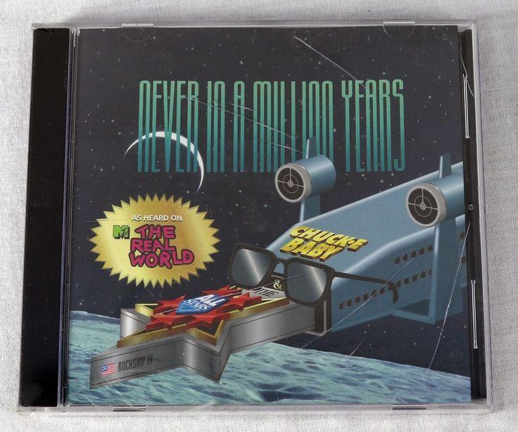 Chuck E Baby & The All Stars 1992 Never In A Million Years Album CD Rock Music #RockAlternativeRock1990sIndieRock