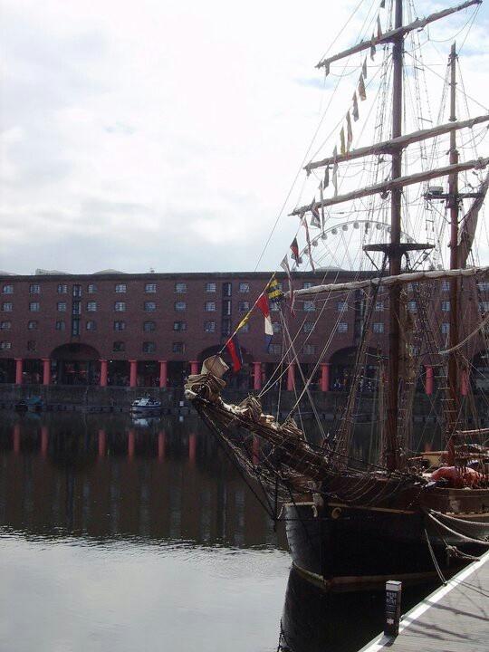 Liverpool historic docks