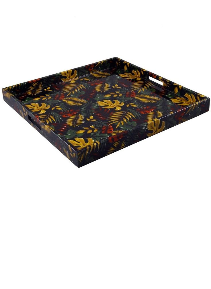 32 Best Black Trays Images On Pinterest Black Ottoman Black Tray And Breakfast Tray: decorative trays for coffee table