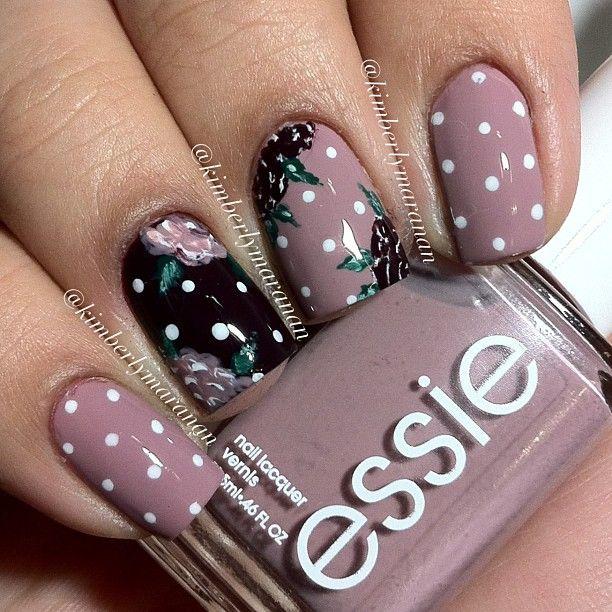polka dots + florals