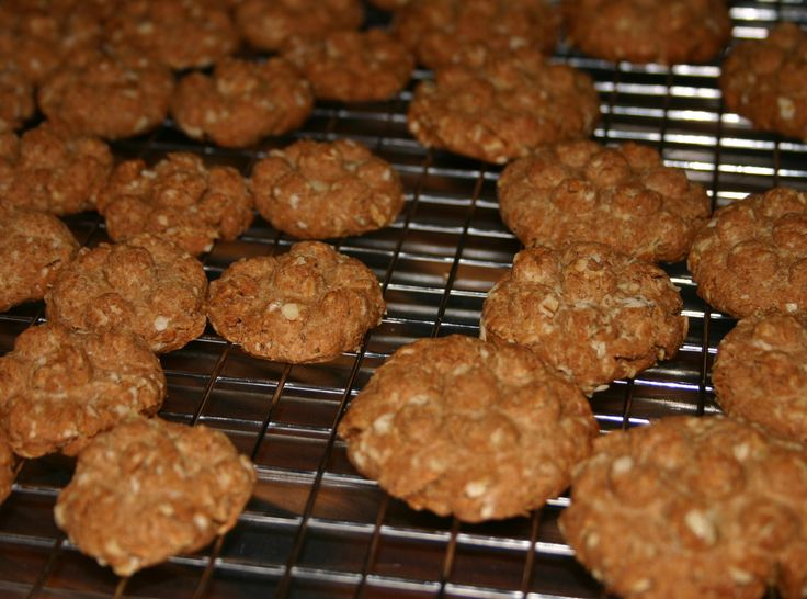 how to make peanut butter oatmeal cookies for dogs