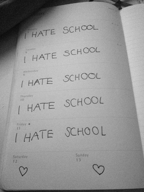 I hate school pictures tumblr