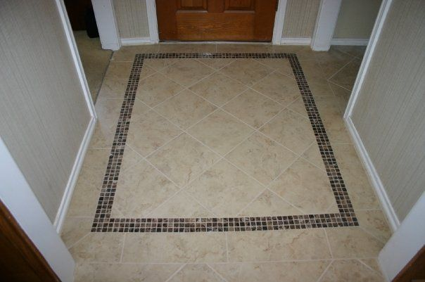 Front Foyer Tile Pictures : Tiled entryway homes pinterest mosaics entrance