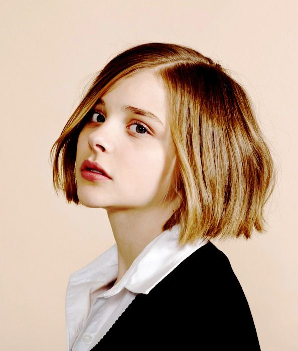 bob hair | Tumblr : chloe grace moretz