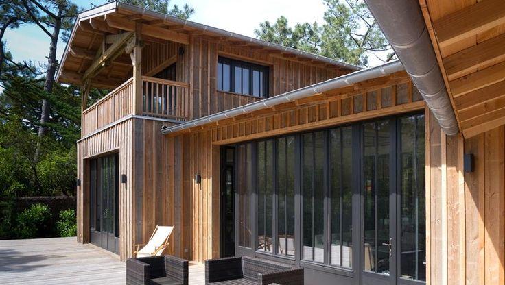 8 best CAP images on Pinterest Wooden houses, Arquitetura and Decks - location maison cap ferret avec piscine
