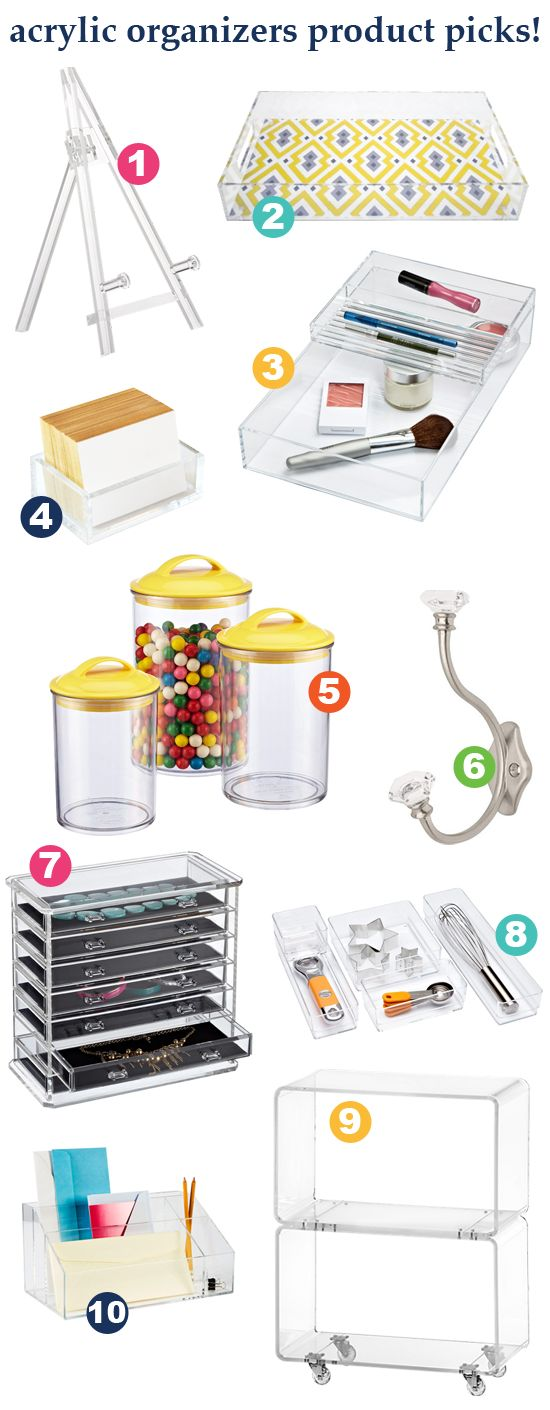 Organize With This: Acrylic!
