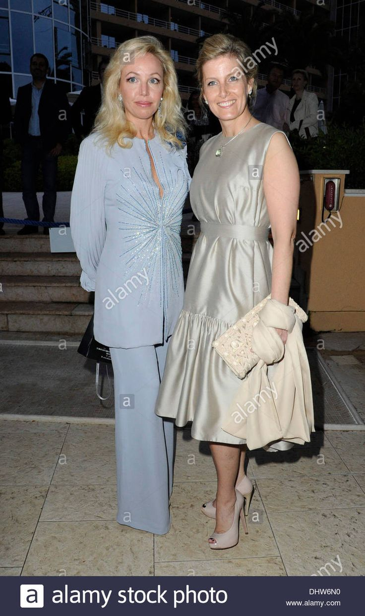 Download this stock image: Guest, Sophie, Countess of Wessex Amber Fashion Show and Charity Auction in Monaco  Monte Carlo, Monaco - 25.05.12 - DHW6N0 from Alamy's library of millions of high resolution stock photos, illustrations and vectors.