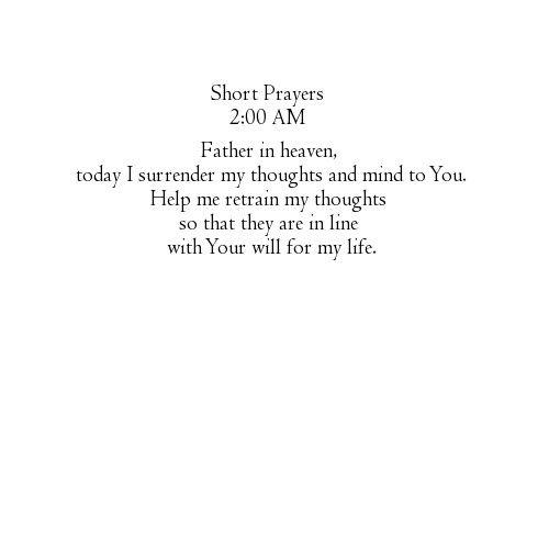 Short Simple Prayer Quotes: 25+ Best Ideas About Short Prayers On Pinterest