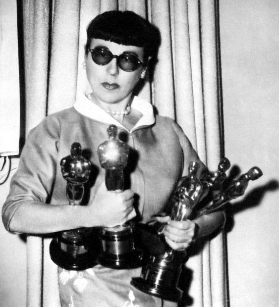 edith head costume designer | The genius behind Hitchcock's most famous costumes…