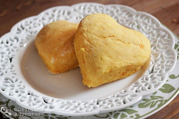 Sunrise Biscuits - sweet potato biscuits from Malawi