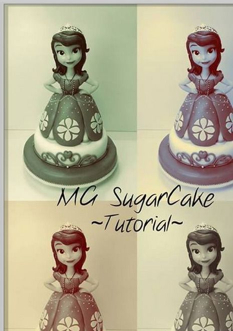 sofia the first tutorial: Cakes Ideas, Decor Cakes, Figurines Tutorials, Fondant Tutorials, Kids Cakes, Cakes Design, Princesses Sofia, Princesses Cakes, Tutorials Cakes