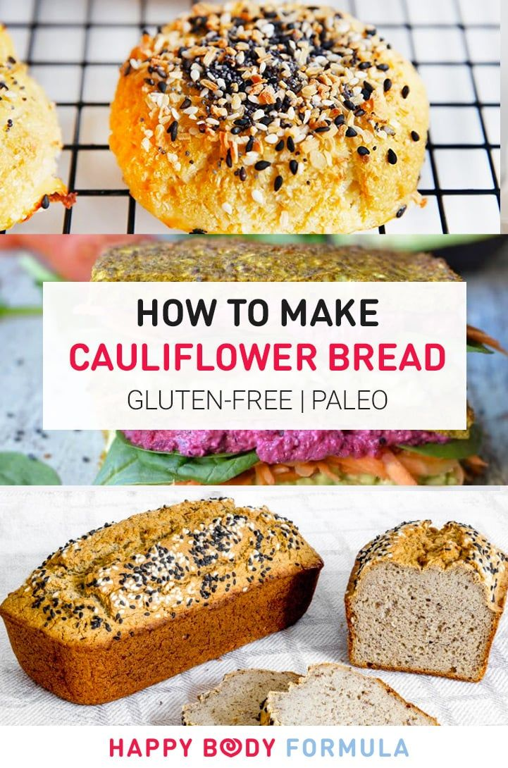 How To Make Cauliflower Bread & Other Baked Goods (gluten-free & paleo recipes)