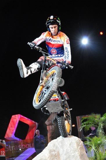 X-trial world champion Tony Bou
