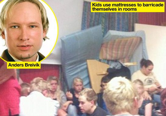 Oslo Shooter Anders Breivik's Terrified Victims Barricaded Themselves In Dorms As He Went On Killing Spree