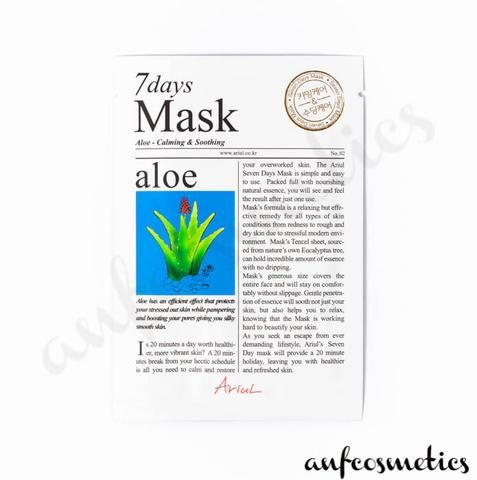 Ariul 7 days mask aloe