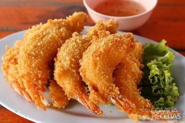 Receita de Empanado de camarão - Comida e Receitas