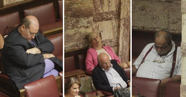 Να εδώ μωρέ, ψηφίζουμε για το μέλλον της Ελλάδας...