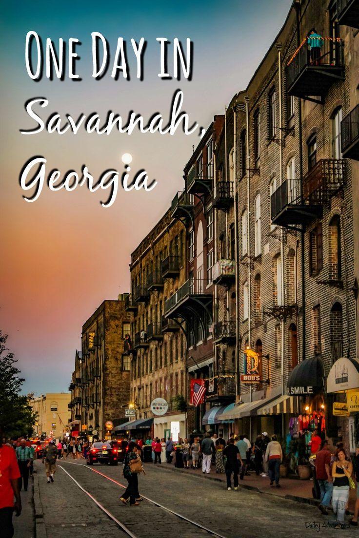 Travel to Savannah, Georgia: A one-day itinerary