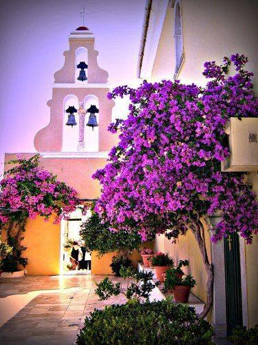 Monastery of #Paleokastritsa #Corfu, Greece
