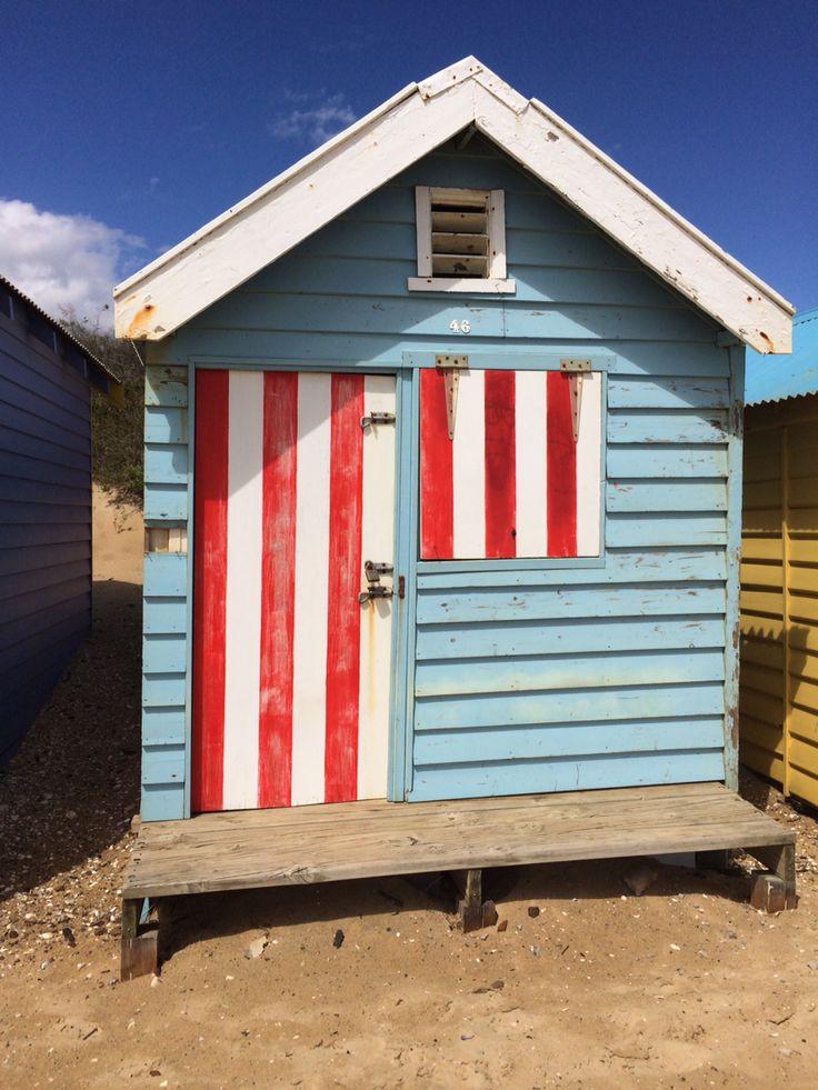 Very old Beach box, Brighton beach, Victoria