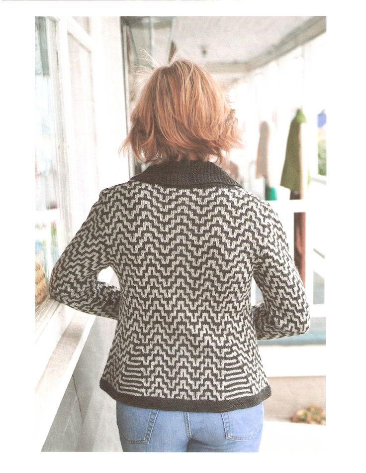 Ravelry: Nexo Jacket pattern by Ann McDonald Kelly