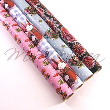 Beautiful Roll Wrap Paper Edith - MiaDeRoca