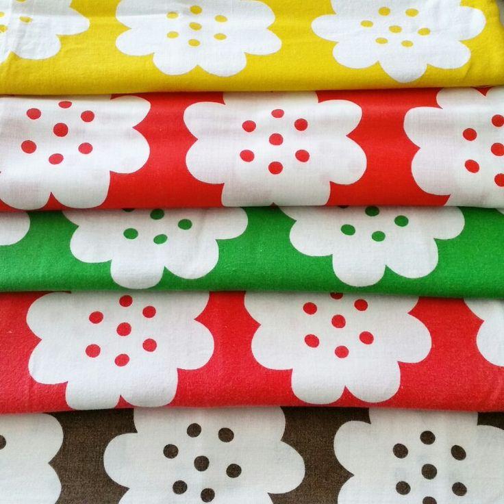 Vintage fabric pepparkakstyg