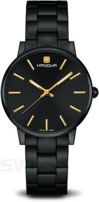 Połączenie #black & #gold – zawsze w dobrym tonie. #Hanowa #classic #HanowaLuna #czarny #złoty #zegarek #watch #classy #stylish