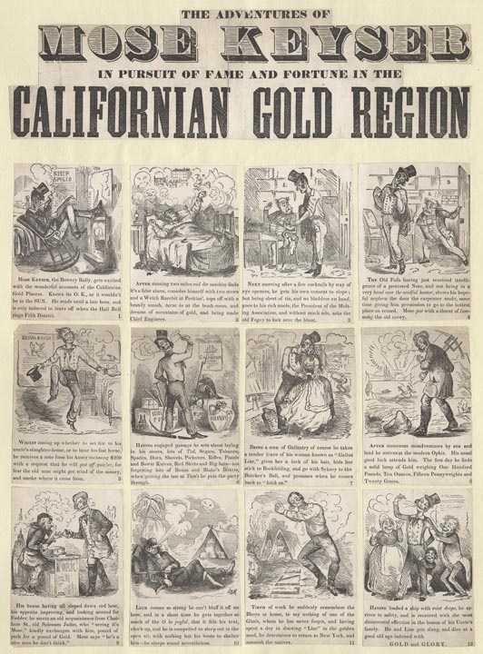 an overview of the california gold rush of 1849 Key points in black african-american history and the california gold rush  key points in black history and the gold rush  in the fall of 1849,.