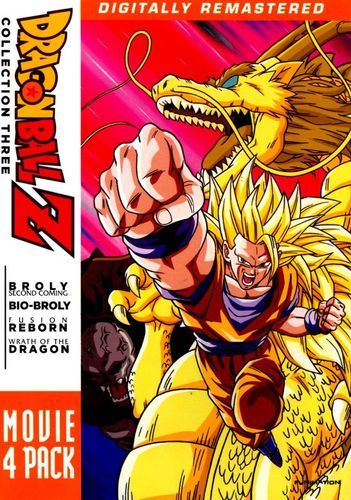 DragonBall Z: Movie 4 Pack - Collection Three [4 Discs] [DVD]