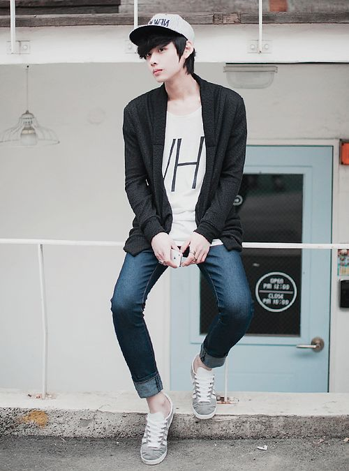 #ulzzang #asian #korean #fashion #boy #hanyoung | Korean Ulzzang/Fashion | Pinterest | Ulzzang ...