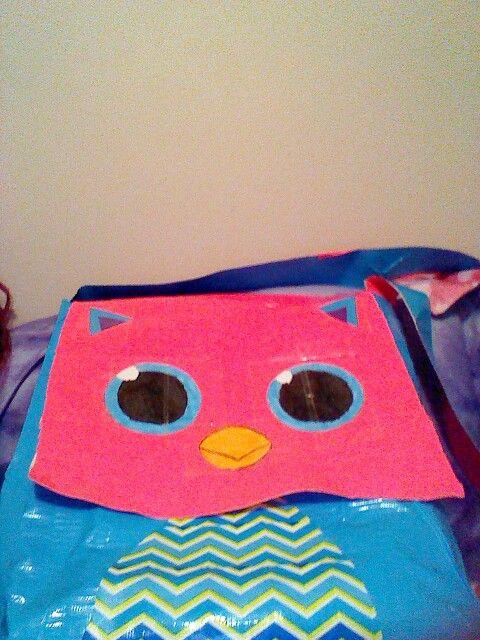 duct tape Owl bag made by yours truly!!!