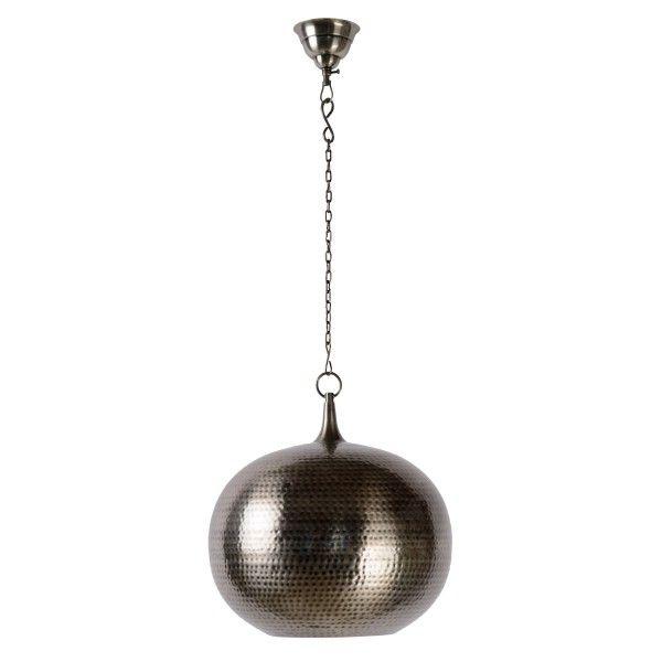 Indira D35 cm - Lucide - kolor srebrny