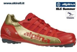 Alpina ECL Summer Classic  ELITE RACING - Champions best friend  World's first special shoes for Rollerskiing. These well-ventilated summer rollerski shoes is result of the long term development in close cooperation with many World Cup athletes. These shoes won the Red Dot Design Award as the best ski shoes for warm conditions. The ECL Summer can be used even on snow when temperatures are warm. Thanks to soft Pebax NNN sole the shoes provide an optimal contact with rollerskis. See…