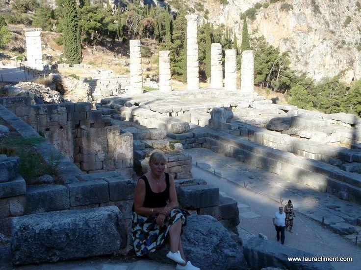 In Delphi (Greece)