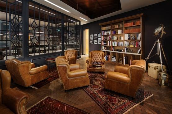 Jumeirah Emirates Towers - Dubai Restaurants - Alfie's Cigar Lounge - British