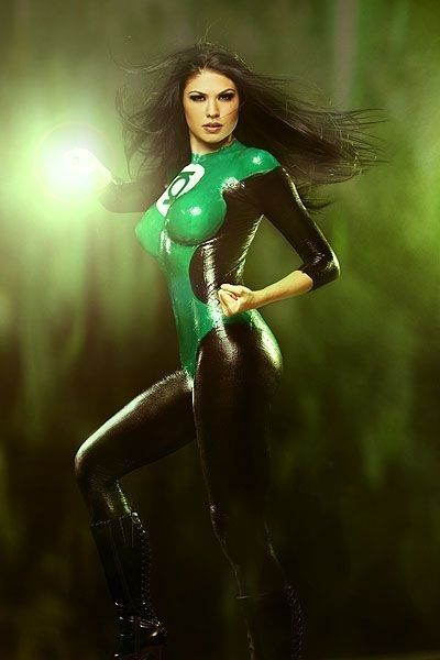 Green Lantern rule 63 cosplay