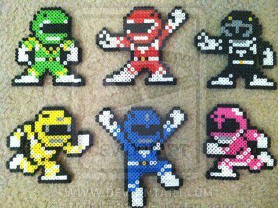 Power Rangers Set by Modok0889.deviantart.com on @deviantART