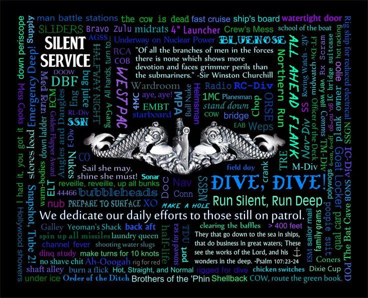 US Navy Submarine Speak by PhotoNutz on Etsy https://www.etsy.com/listing/232555035/us-navy-submarine-speak